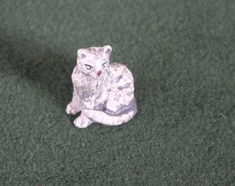 Miniature Grey Cat, Kitten