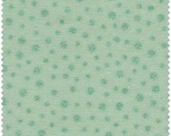 By The HALF YARD - Pearl Essence Gemstones by Galaxy for E.E. Schenck Jadeite Green with Tonal Pearlized Irregular Dots