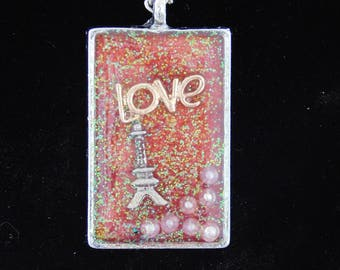 Love in Paris necklace