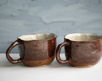 Pair simple ceramic cup for you