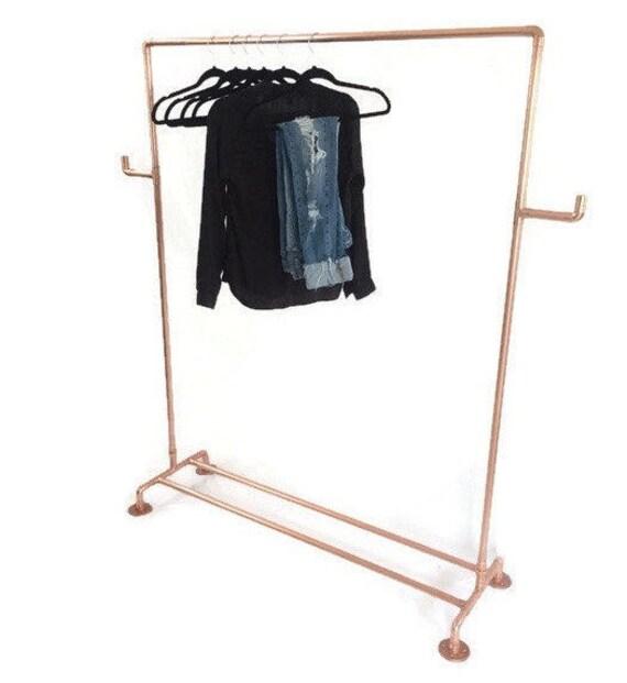 Kleiderständer clipart  Kupferrohr die Kupfer Kleidung Rack Kleiderstange mit