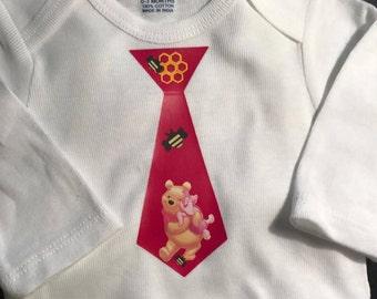 Custom Winnie The Pooh onesie/shirt