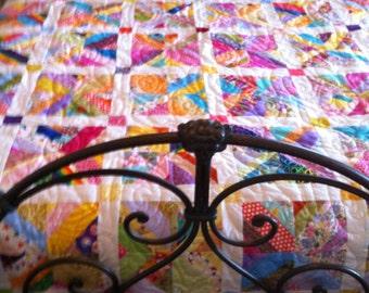 Wild One String quilt