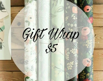 Gift Wrapping for items
