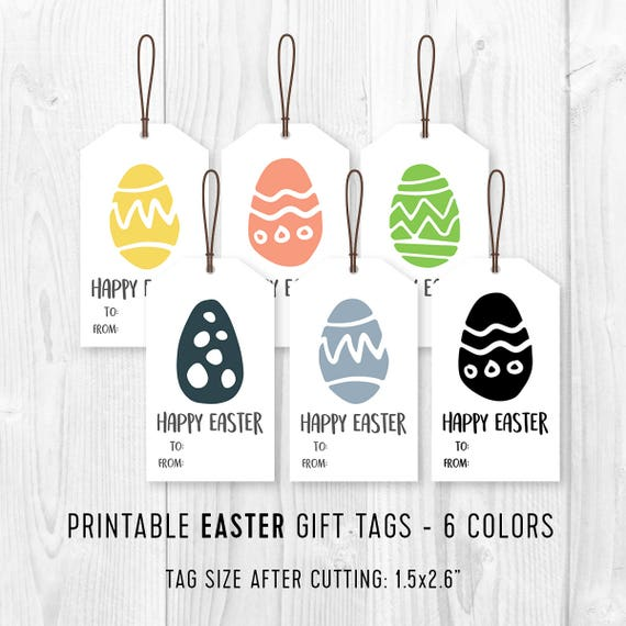 Printable easter favor tags diy easter eggs gift tags diy printable easter favor tags diy easter eggs gift tags diy easter party tag minimalist printable easter tags 4 different designs negle Choice Image