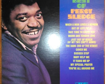Percy Sledge - The Best of Percy Sledge SD-8210 Vinyl Record LP 1982