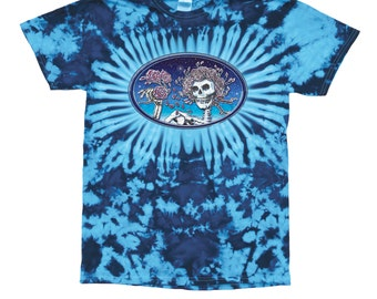 Grateful Dead Tie Dyed T-shirt/ Bertha/ Skull and Roses/classic
