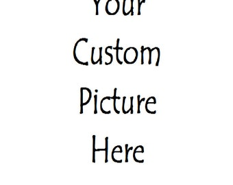 "Ceramic Tile Refrigerator Magnet 3"" x 3""  Your Custom Personalized Picture Here"