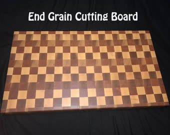 12 x 18 End Grain Cutting Board