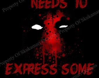 Deadpool - Rage 8x10 Print