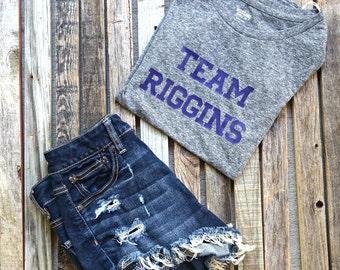 Team Riggins Friday Night Lights Tee / Friday Night Lights / NBC / Tim Riggins / Clear Eyes / Tv Shirts