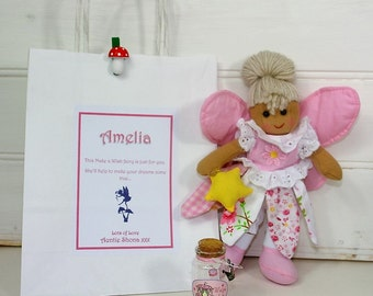 Fairy Party Bag favour ~ personalised gift
