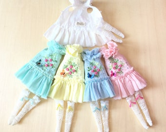 Blythe Embroidery skirt rose