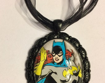Batgirl necklace