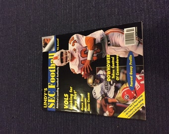 Vintage 1995 Lindy's SEC College Football Preview Magazine