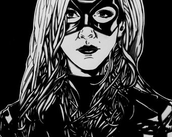 Katie Cassidy as the Black Canary (Arrow)