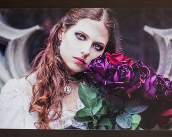 "Alternative gothic photography ""A poem for Catharina"" - Format A4 20x30cms - Namidael photographs"