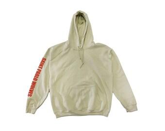 Saint Pablo Wolves Pullover Sweatshirt Rare Sand Tlop | Fuck My Life Up La | Hoodie | Yeezy | Yeezus | Best Pop