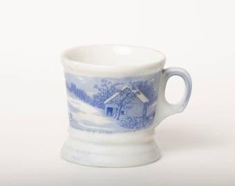 Currier & Ives Shaving Mug