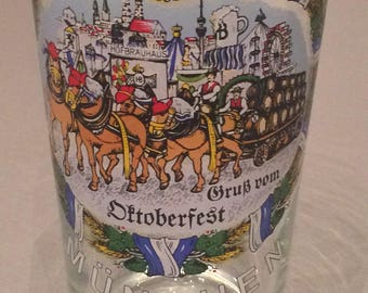 Munich Oktoberfest glass, 05 liters, Oktoberfest, Munich, beer glass,
