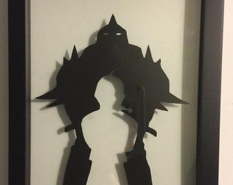 Anime framed art - Fullmetal Alchemist