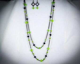Lime Green, Gray and Gunmetal - GR30