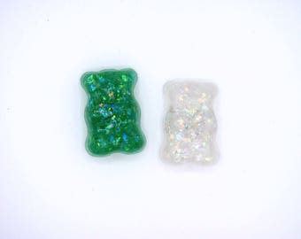 Gummy Bear Resin Refrigerator Magnet Set