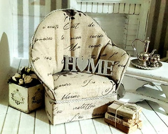 Shabby Lounge Chair