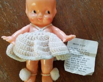 Vintage powder doll