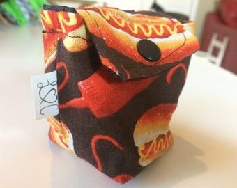 Bag to suck hot dog / P' little Eater