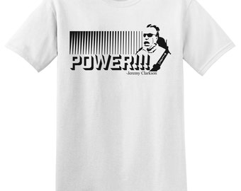Jeremy Clarkson, power shirt, soft fabric, grand tour, top gear, race car t-shirt, speed t-shirt by WearableDesignTShirt on Etsy
