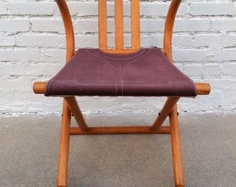 Mid century modern Thonet bentwood folding chair