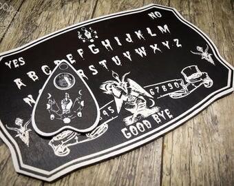 Ouija board, White Baphomet