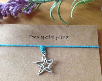 For a special friend bracelet