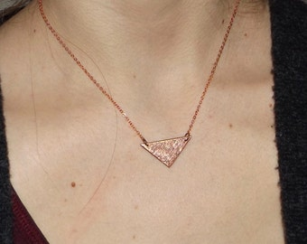 Triangle Swirls Necklace