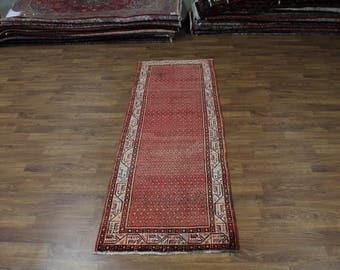 4X10 All Over S Antique Runner Botemir Persian Rug Oriental Area Carpet 3'7X10'4