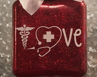 Nurse love ornament