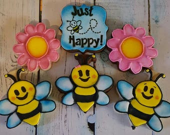 Just BEE Happy Cookies