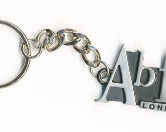 AB FAB absolutely Fabulous Vintage Keyring - NEW