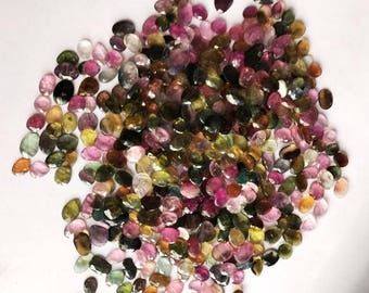 Natural Multi Tourmaline Mix Shape and Size below 7x5 mm