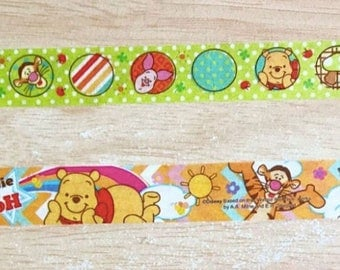 Disney Winnie the Pooh cute kawaii washi sticky masking deco tape