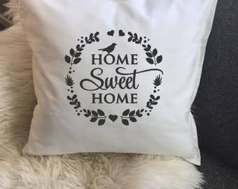 Decorative Pillows, Throw Pillows With Sayings, Pillows, Home Decor, Gifts For Housewarming, Throw Pillows, Home Sweet Home, Gifts For Home