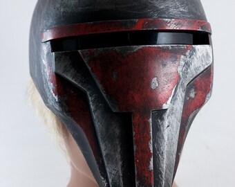Darth Revan helmet, mask, replica, Star Wars (KOTOR), props