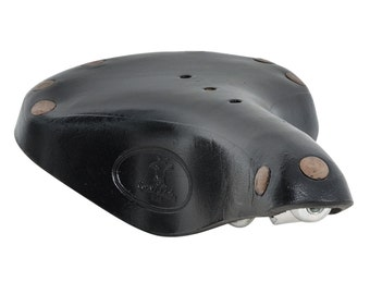 Gusti Leder 'Heinrich H.' Genuine Leather Bicycle Saddle