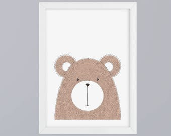 Bear - unframed art print