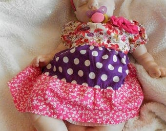 Reborn Baby Girl, Fake Baby, Sweetie by Donna RuBert, Lifelike Baby Girl, Very Realistic Baby, Hand Painted