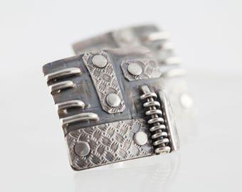"earrings - ""Mechanic No.2"""