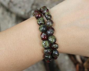 Dragons blood bracelet