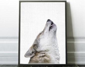 Wolf Print, Wolf Photography, Wolf Art, Woodland animal, Woodland Print, Animal Photography, Woodland Decor, Kids Printable Art,Rustic Decor