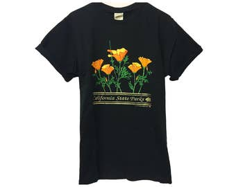 VINTAGE ©1998 California State Park Poppies T-shirt